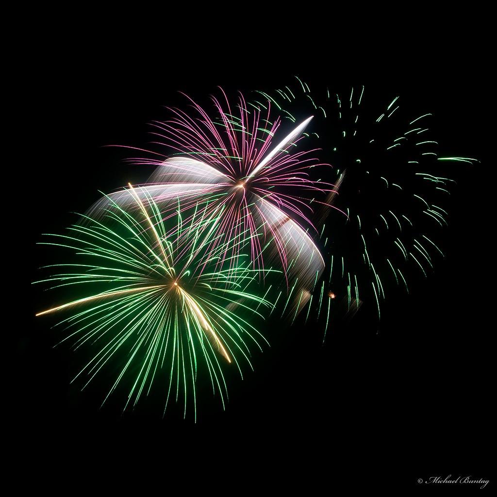 New Year's Eve Fireworks, Paranaque, Manila