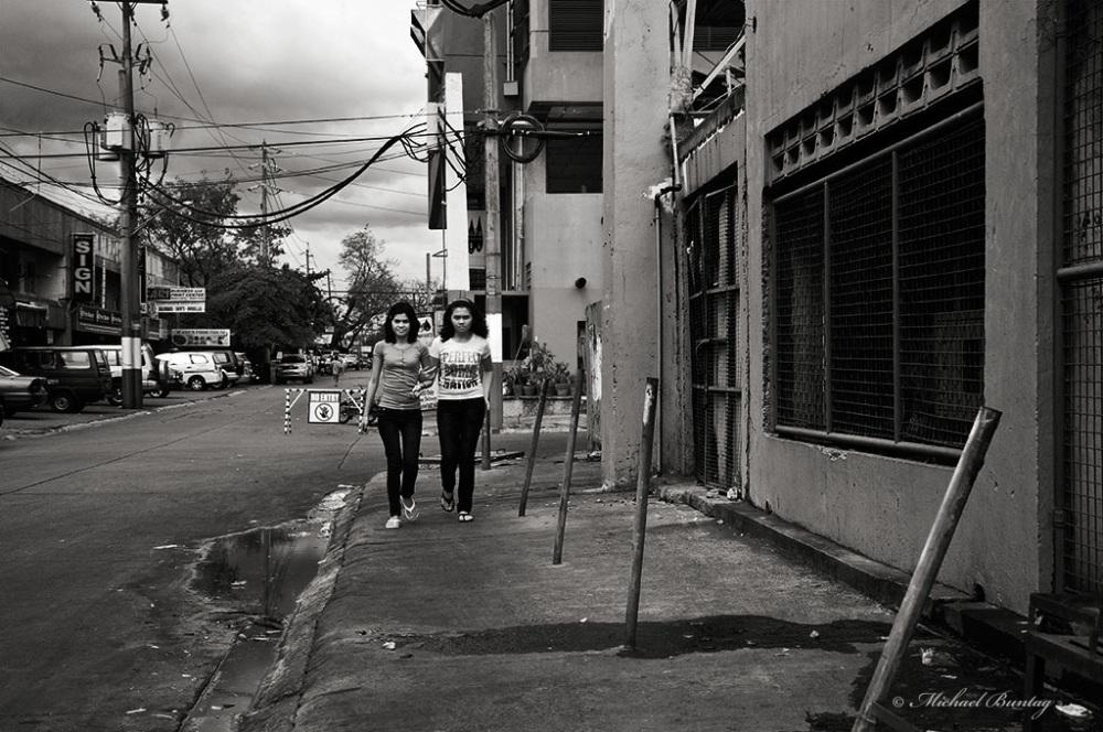 Pedestrians, Paranaque, Manila