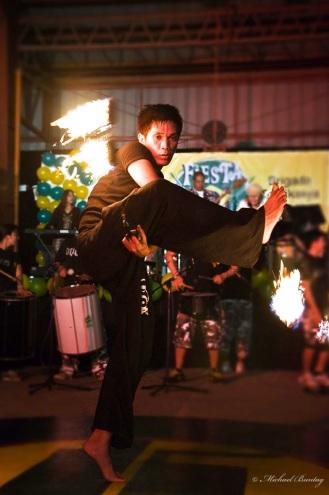 Fire Dancer, Paranaque, Manila