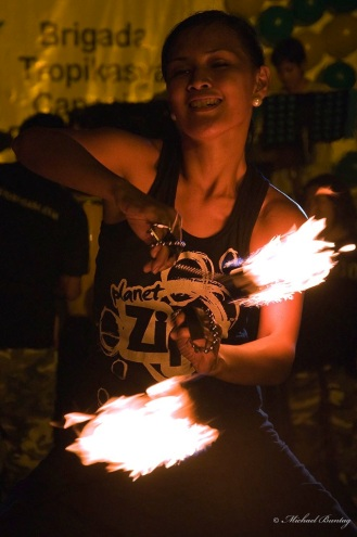 Fire Dancer, Paranaque, Manila
