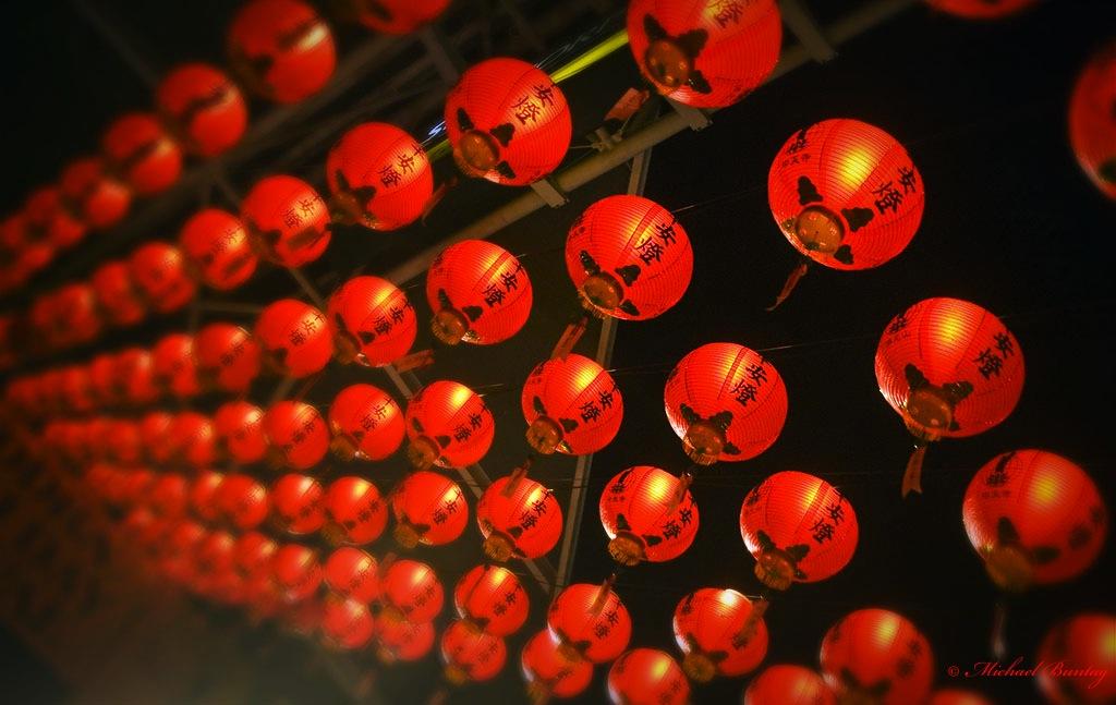 Paper Lanterns, Buddha Birthday 2006 Parklands, South Bank, Brisbane