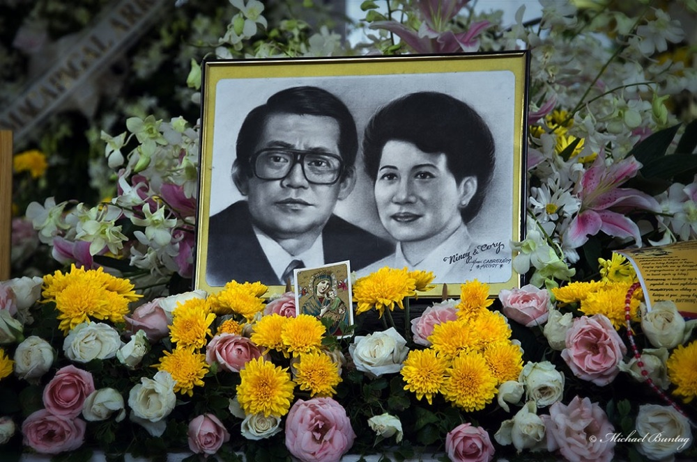 Ninoy Aquino 26th Death Anniversary: Ninoy and Cory Aquino Tomb, Manila Memorial Park, Paranaque, Manila