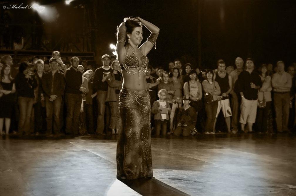 Paniyiri 2008 Greek Tsifteteli Belly Dance, Nerissa, the Peloponnesian Princess, Musgrave Park, West End, Brisbane