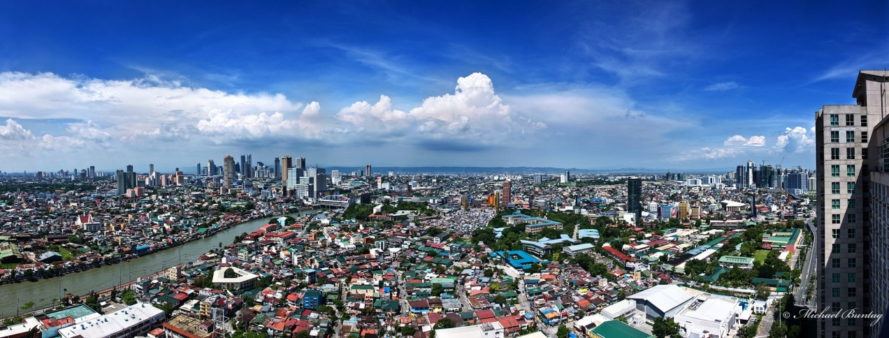 Manila skyline, Rockwell Center, Makati, Manila