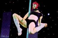 Pole Dancer, Brisbane Sexpo 2009, South Bank, Brisbane