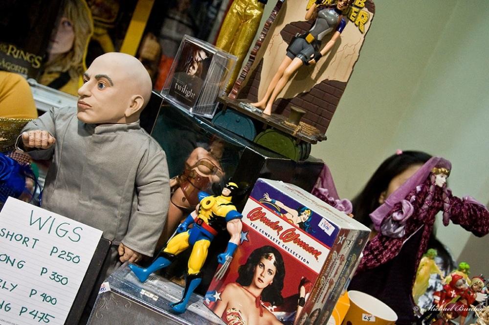 Exhibitor Stand Merchandise, Ozine Fest 2010, SM Megamall, Mandaluyong, Manila