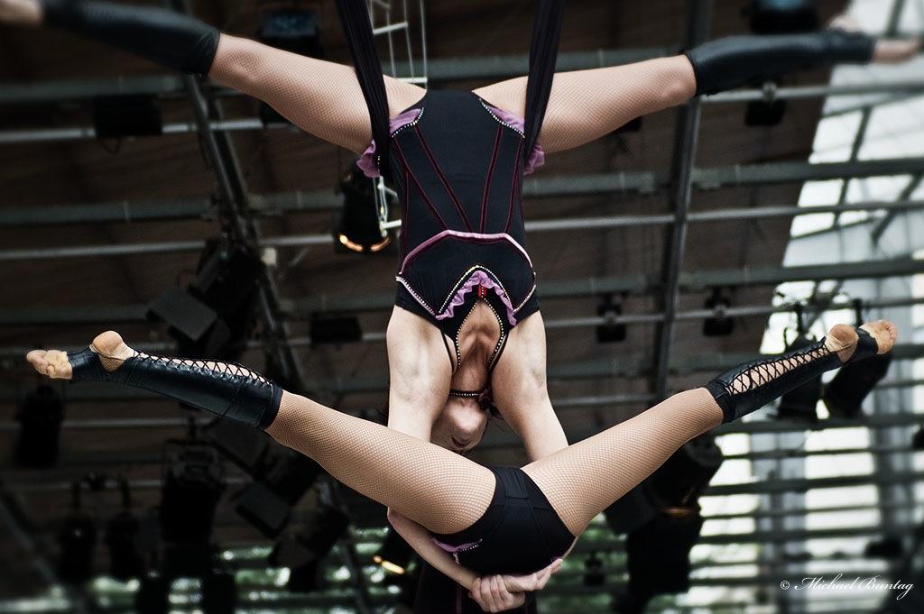Acrobats, Queen Street Mall, Brisbane CBD
