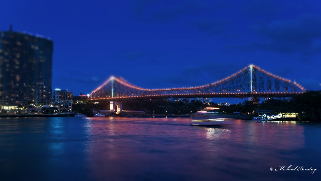 Story Bridge, Brisbane River, CBD, Brisbane