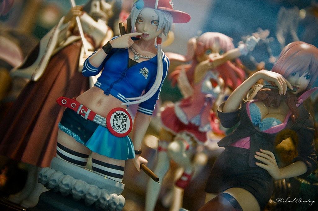 Anime PVC Figures, Rockwell Center, Makati