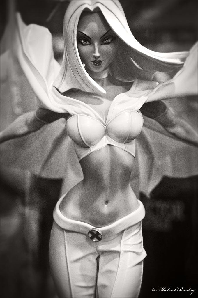 White Queen (Emma Frost) PVC Figure, 9th Philippine Toy Convention (Toy Con 2010), SM Megamall, Mandaluyong