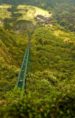 Funicular Tracks, Lake Taal, Tagaytay