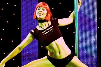 Pole Dancers, Brisbane Sexpo 2009, South Bank, Brisbane