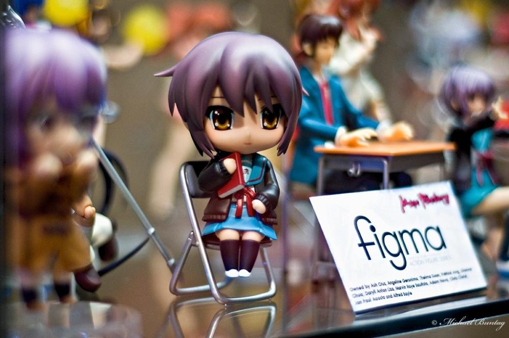 Haruhi Suzumiya PVC Figures, Ozine Fest 2011, SM Megamall, Mandaluyong-Ortigas