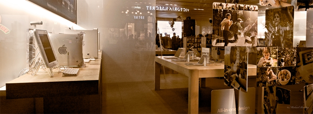 Apple Store, Third Street Promenade, Santa Monica, Los Angeles, California