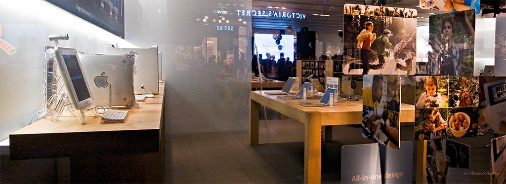 Apple Store, Third Street Promenade, Santa Monica, Los Angeles, California