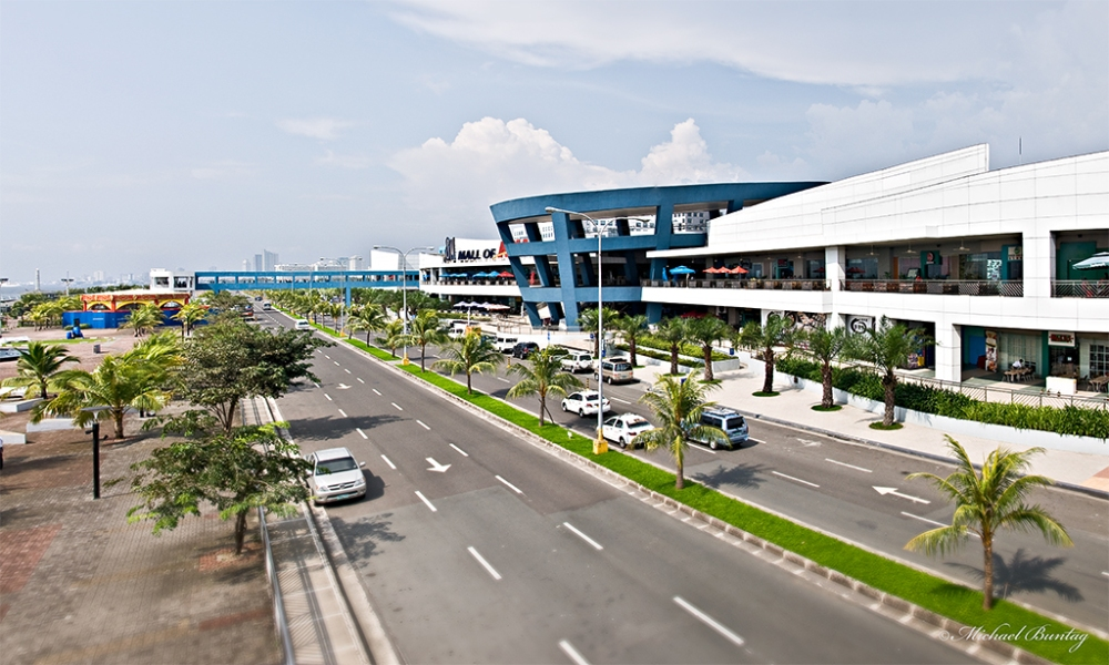 Seaside Boulevard, Mall of Asia, Pasay, Manila