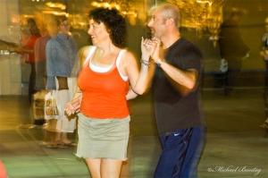 Third Street Swingers, 3rd Street Promenade, Santa Monica, Los Angeles, California