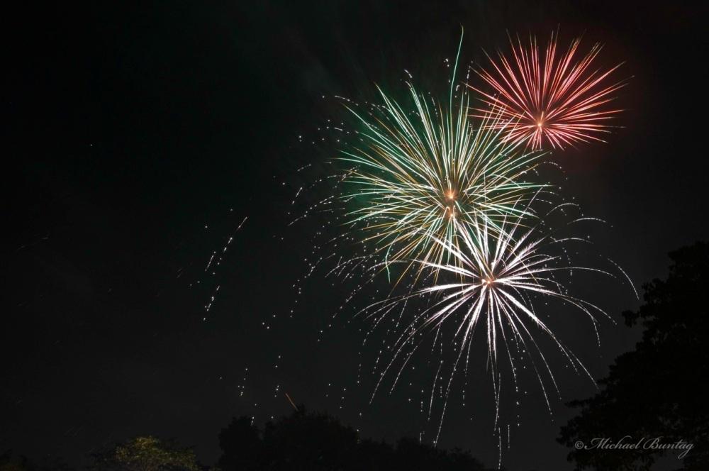 New Years Eve Fireworks, Park, Tahanan, Paranaque
