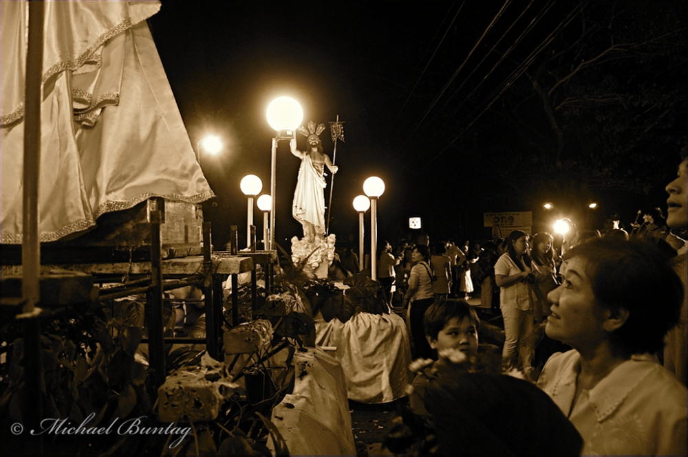 Easter Celebrations, Church, Park, Tahanan, Paranaque, Manila