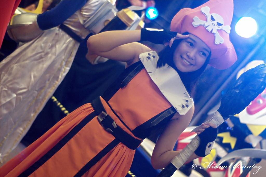 Pirate Cosplay, ToyCon 2012, SM Megamall, Mandaluyong, Manila