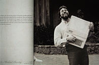Steve Wozniak and Aplple II computer, Revolution in the Valley, CBD, Brisbane, Queensland