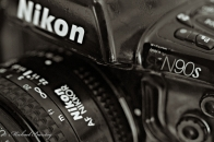 Nikon N90s 35 mm SLR Camera with Nikkor 50mm 1.8 AF lens