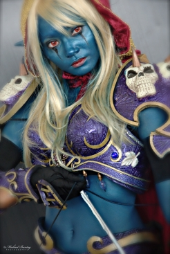 Lady Sylvanas Windrunner, World of Warcraft Cosplayer, Cosplay Mania 2012, SMX Convention Center, Mall Of Asia, Pasay, Manila