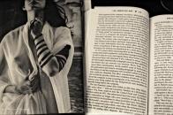 Shekhina by Leonard Nimoy, Fast Food Nation by Eric Schlosser, Barnes & Noble, 3rd Third Street Promenade, Santa Monica, Los Angeles, California. Fujifilm Neopan 1600 BW 35mm negative film.