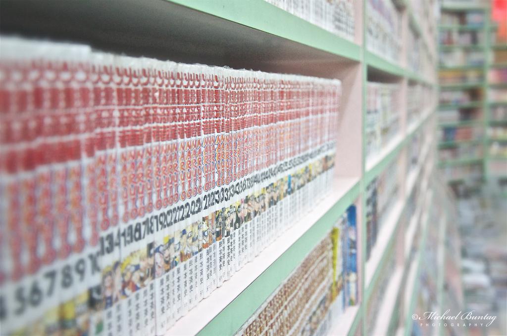 Manga Volumes, Hiro Comic World, Chinatown, Kuala Lumpur