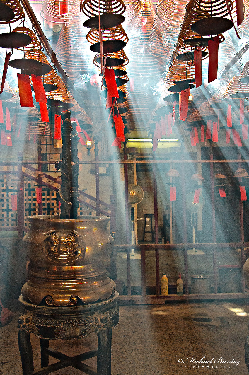 Man Mo Temple, Hollywood Road, Sheung Wan, Hong Kong