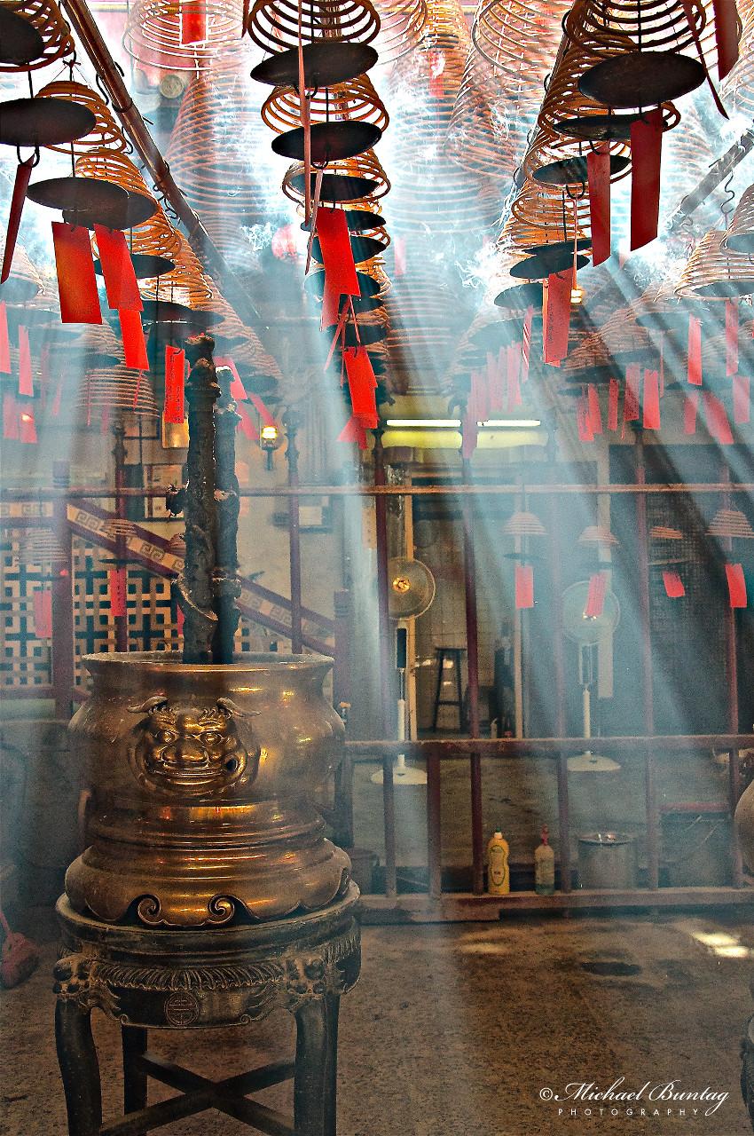 Man Mo Temple, Hollywood Road, Sheung Wan, Hong Kong