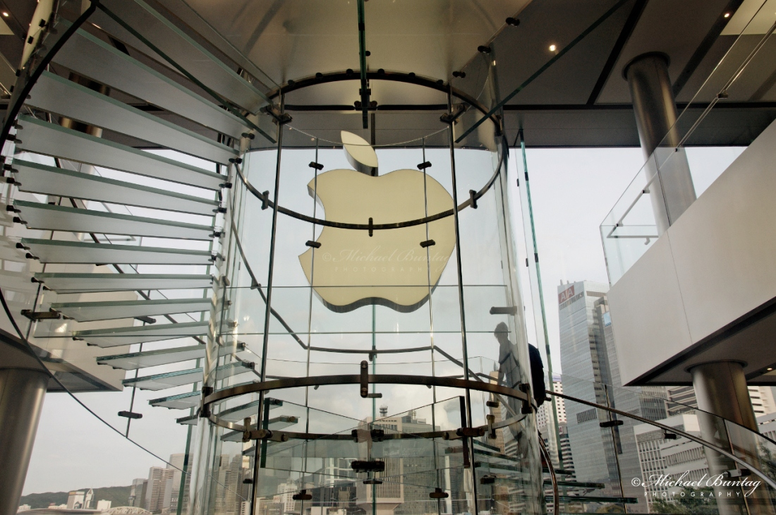Apple Store, Hysan Place, 500 Hennessy Road, Causeway Bay, Hong Kong.