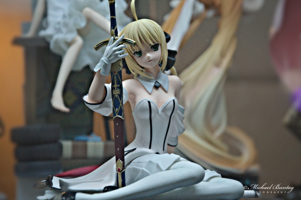 Fate Stay Night Saber Arturia Pendragon PVC Figures, The 13th Philippine Toys, Hobbies and Collectibles Convention 2014, Megatrade Hall, SM Megamall, Mandaluyong, Manila