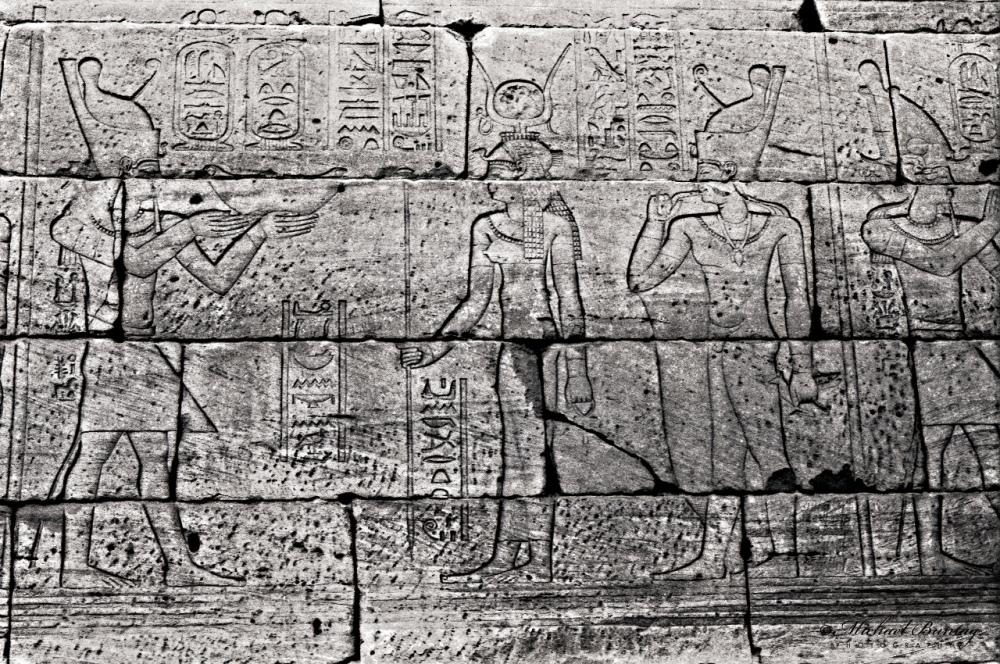 Temple of Dendur, Metropolitan Museum of Art, Manhattan, New York, New York. SIlford HP5+ BW negative 35mm film.