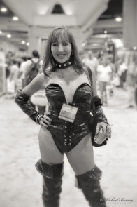 Selina Desire, Comic-Con International 2000, Convention Center, San Diego, California. Shot 07/20/00 - 07/23/00. Fujifilm NHGII 800.