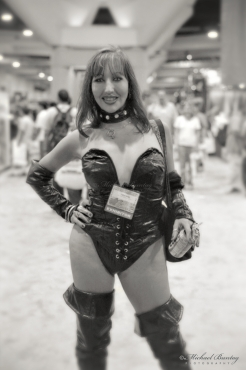 Selina Desire, Comic-Con International 2000, Convention Center, San Diego, California. Shot 07/20/00 - 07/23/00. Fujifilm NHGII 800.