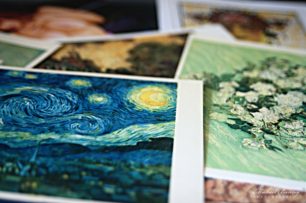 Starry Night by Vincent Van Gogh, Miscellaneous Postcards, House, Tahanan, Paranaque, Manila