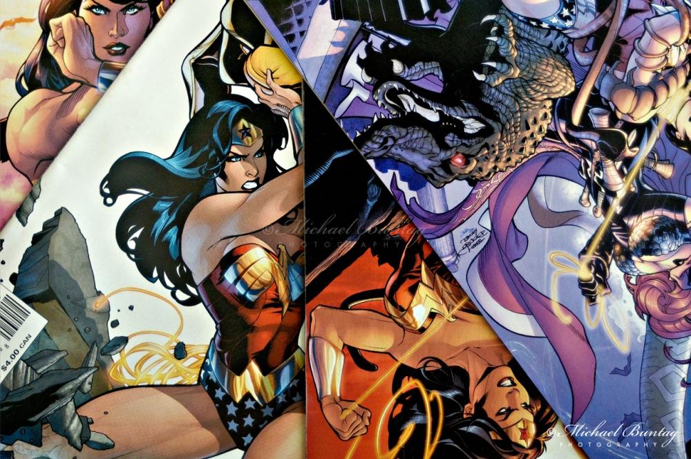 Wonder Woman comics, Robertson, Brisbane, Queensland